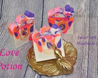 Love Potion Soap Bars