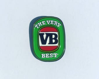 VB Soft Enamel Pin