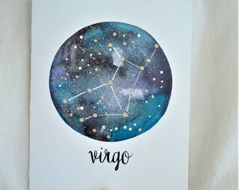CARD - Virgo Zodiac