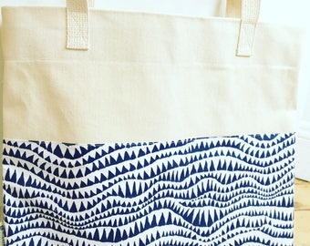 Shark Teeth Tote Bag