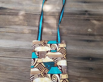 Southwestern Print Cross Body Bag/Purse with Zipper closure  FREE SHIPPING