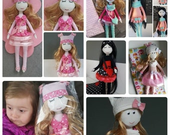 Handmade 55 cm dolls