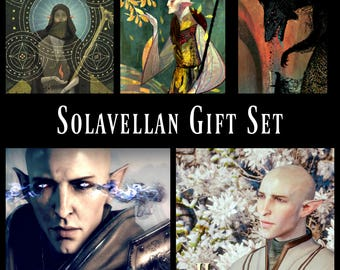 Ultimate Solavellan Gift Set -  a Dragon Age Solas inspired perfume collection