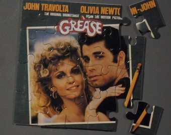 Grease Soundtrack CD Cover Magnetic Puzzle