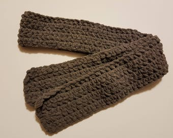 Lightweight crochet scarf