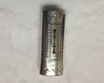 Native American Cigarette Lighter Cover