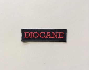 Diocane embroidered sew on parch