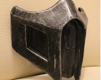 Ninja Mortal Kombat Noob Saibot inspired mask handmade replica