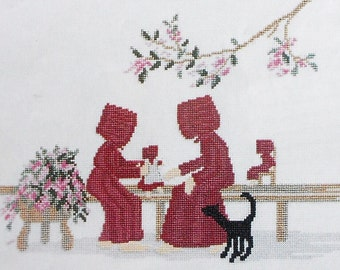 Diane Graebner DOLLY'S DAY Picture - Counted Cross Stitch Pattern Chart - fam