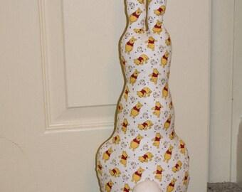 Rabbit Ornament Nursery Winnie the Pooh Fabric Bookend