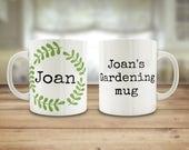 Gardening mug, Dad's ...