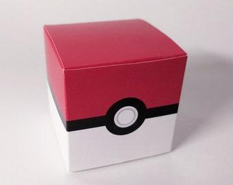Pokemon Treat Box - DIY Printable