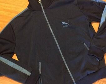 Vintage puma track jacket size large