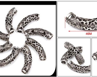 Dreadlock Beads Silver Dreadlock bead  dread dreadlock  bead  jewellery  making loc jewelry loc bead dreadlock accessory dreadlock beads