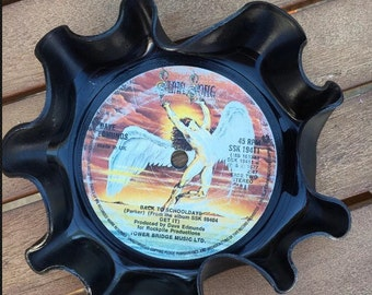 Vintage Vinyl Record Key Holder - Dave Edmunds - Back To School Days