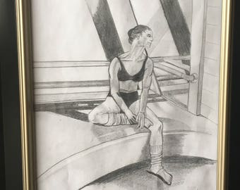 Dance Drawing - Grace of a Dancer