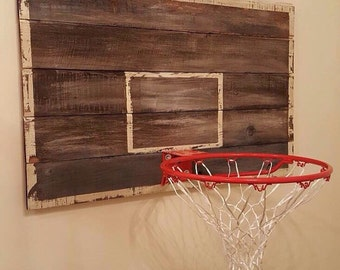 Vintage made basketball backboard