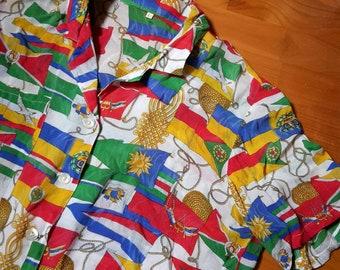 Vintage shirt signed by Guy Laroche Paris
