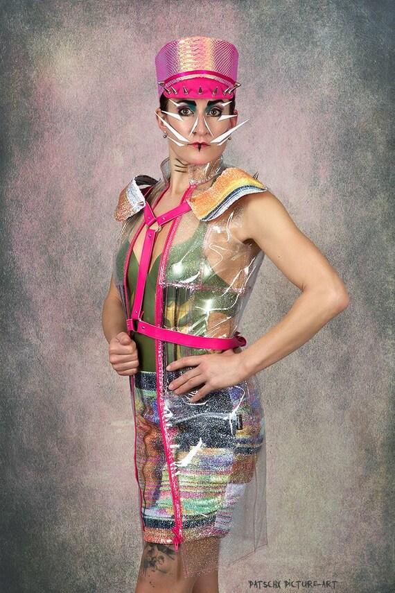 Pailletten Minirock Mini kurz festival gogo dance sequin bunt sommer