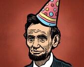 Abe Lincoln Birthday Prin...