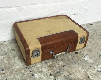 Vintage Wheary Side Saddle Suitcase