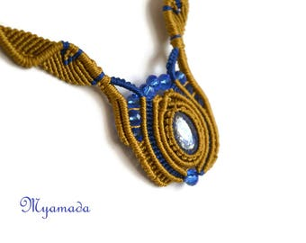 Micromacrame  Necklace