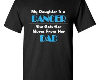 Daughter is a Dancer t-shirt