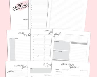 Extraordinary Goal Planner | Printable Planner Download