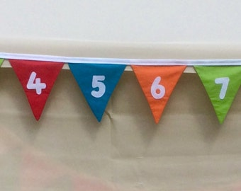 Numbered Bunting