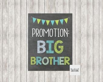 Digital Promotion Big Brother | Promoted to Big Brother | Pregnancy Announcement | Baby Announcement