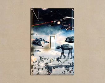 Star Wars 2 - Light Switch Plate Covers Home Decor Outlet