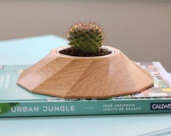 Solid Wood Succulent Planter