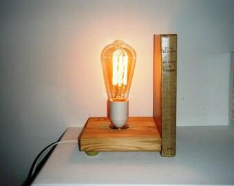 Serre-Livres et Lampe Livre, 2 en 1
