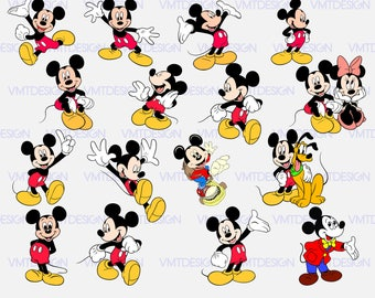 mickey svg mickey mouse svg mickey mouse vector mickey mouse digital clipart for