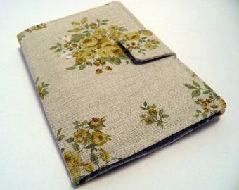 E-reader Case, Kindle Paperwhite Case, Kindle cover, E-book Reader Cover, E-reader cover, Case for any ereader, Flower design