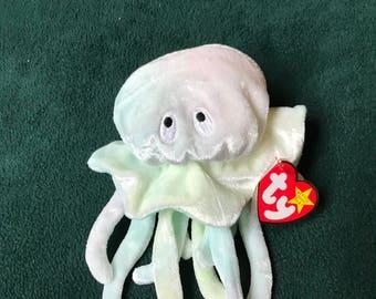 Retired Beanie Baby - Goochy the Jellyfish