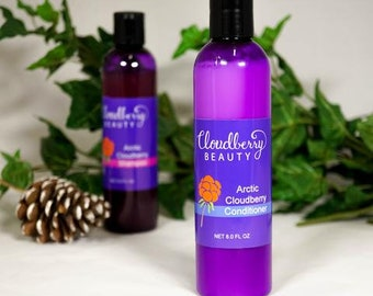 Arctic Cloudberry Conditioner - All Natural Conditioner - Hair Treatment - Deep Conditioning - Essential Oils - Coconut Oil - 100% Natural