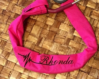 Custom embroidered stethoscope cover