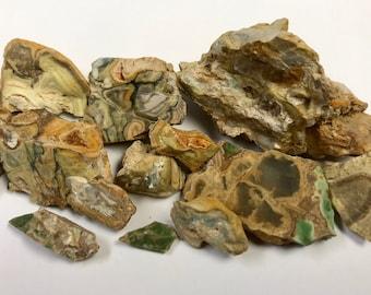 PHOSPHATE MINERALS Rare Fairfield Utah 111g Lot Min33
