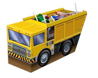 Construction Party Table Decorations/Construction Party 3-D Centerpiece/3-D Dump Truck Construction Centerpiece