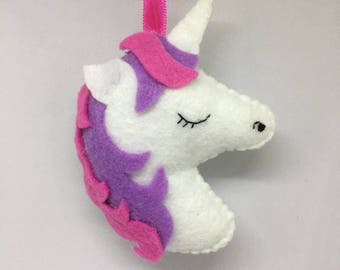 Unicorn Ornament or Keychain