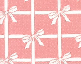 Wrapped Up in Pink - Vintage Holiday - Bonnie and Camille - Moda Fabrics - 55165 15  - Christmas Fabric