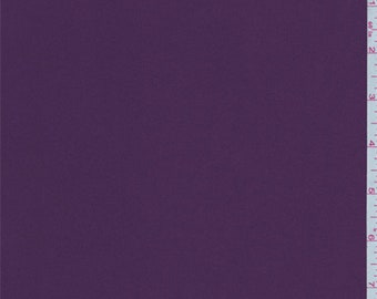 Berry Purple Polyester Jersey Knit, Fabric By The Yard