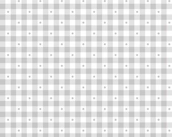 Sorbets - Soft Gray Gingham 23691-K by Quilting Treasures Fabric Yardage