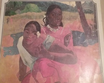 Vintage Gauguin Agallery of Poster size reproductions over 60 prints,  1978