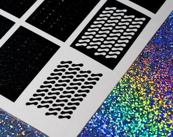 Peanut Nail Vinyls - Nail Decals - Nail Art - Nail Stickers - Stencils