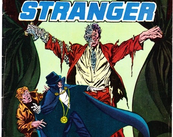 The Phantom Stranger 34, Dr. Thirteen, Horror comic book, Skeletons, Halloween art, Scary Stories 1975 DC Comics in FN (6.0)