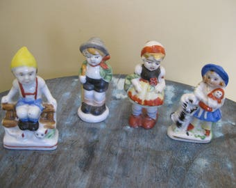 Occupied Japan Small Figurines (4)