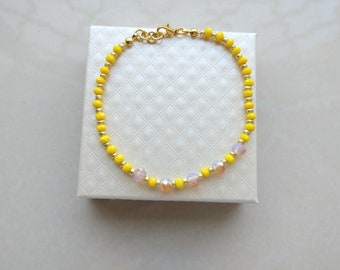 TITO Yellow Crystals Bracelet