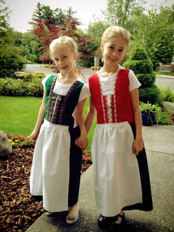 Toddler/Child's Norwegian Bunad dress